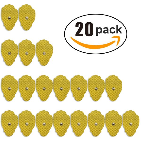 10 -Pack of Large Replacement TENS Pads-0