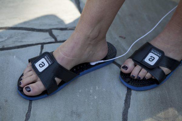 Smart Relief Acupressure TENS Massaging Sandals-457