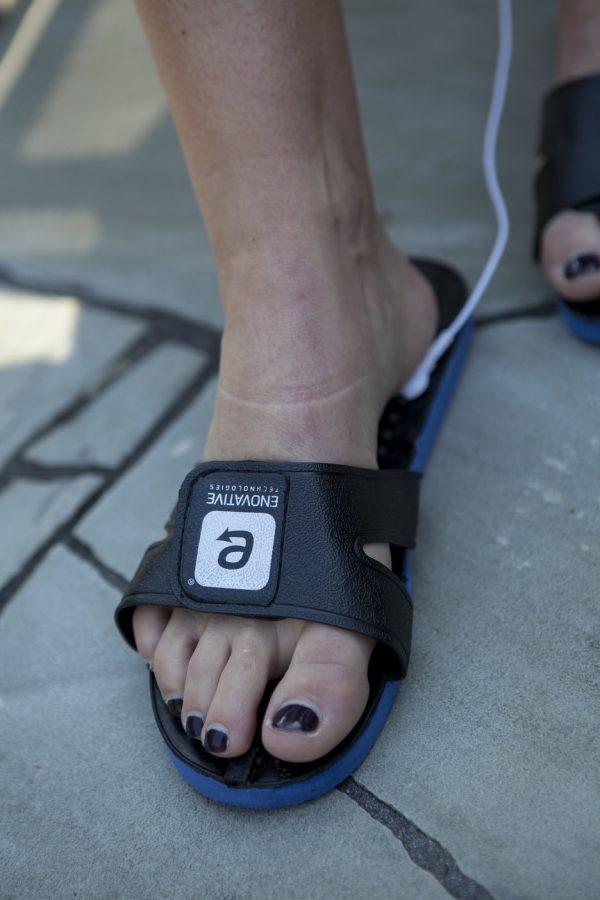 Smart Relief Acupressure TENS Massaging Sandals-458