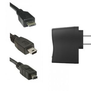 Replacement USB Cable & AC Adapter-0